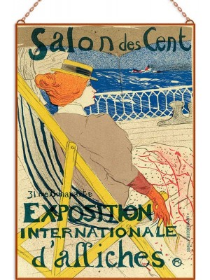Salon des Cent üvegkép