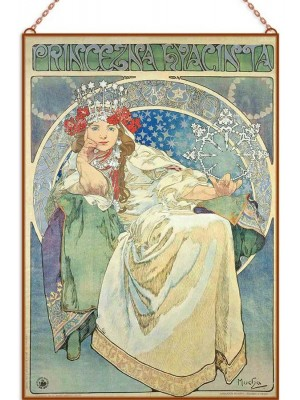 Alfons Mucha - Princess Hyacinth