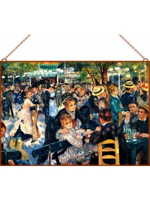 Renoir-Ball at the Moulin üvegkép