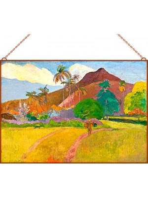 Paul Gauguin - Tahiti táj