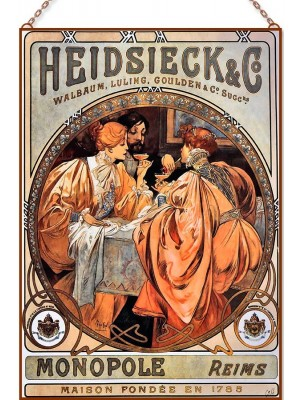 Alphonse Mucha - Heidsieck and Co