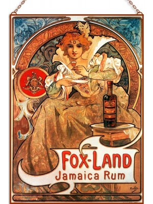 Alphonse Mucha - Fox Land