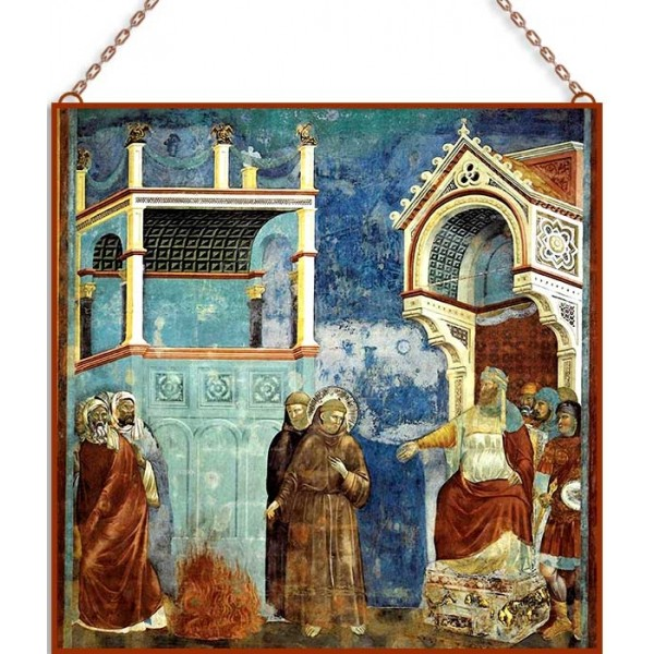 Giotto-The Sultan of Egypt üvegkép